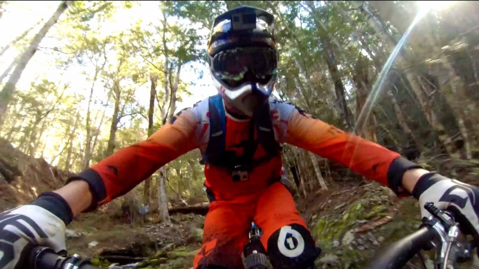 Freeride Mountain Bike POV in New Zealand – Through My Eyes w/ Aaron Chase