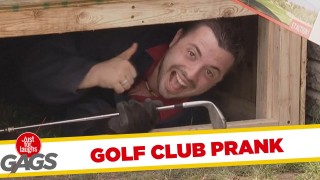 Golf Club Swallowing Machine