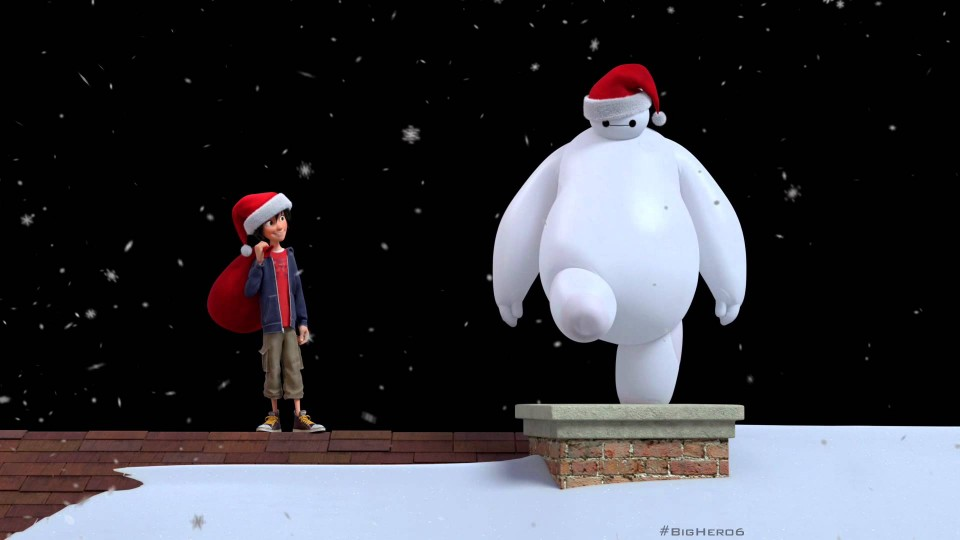 Happy Holidays from Disney's Big Hero 6!