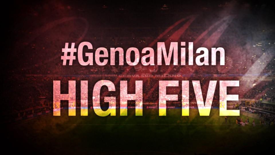 High Five #GenoaMilan | AC Milan Official