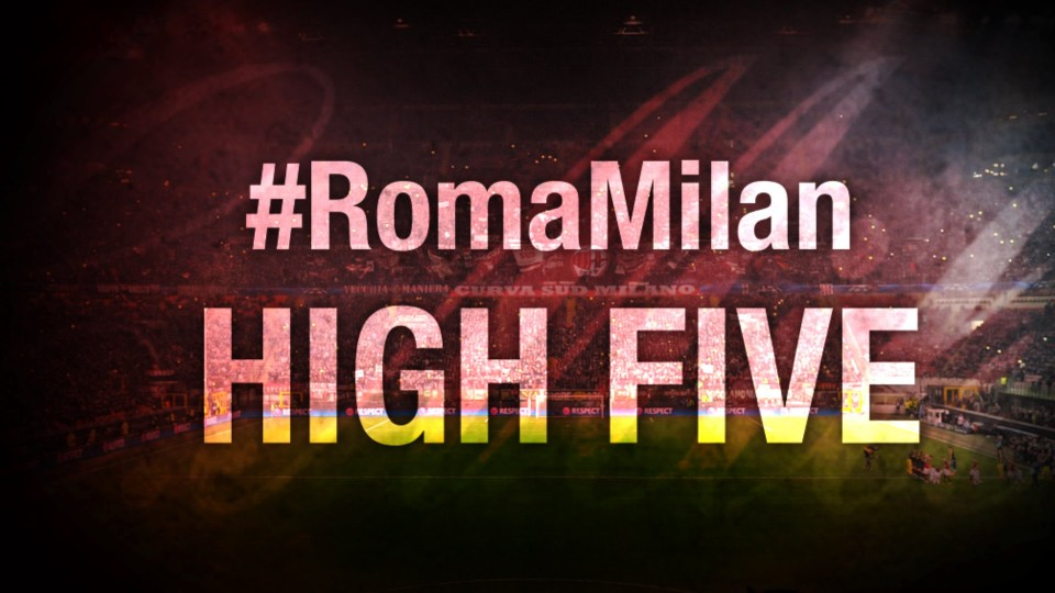 High Five #RomaMilan | AC Milan Official