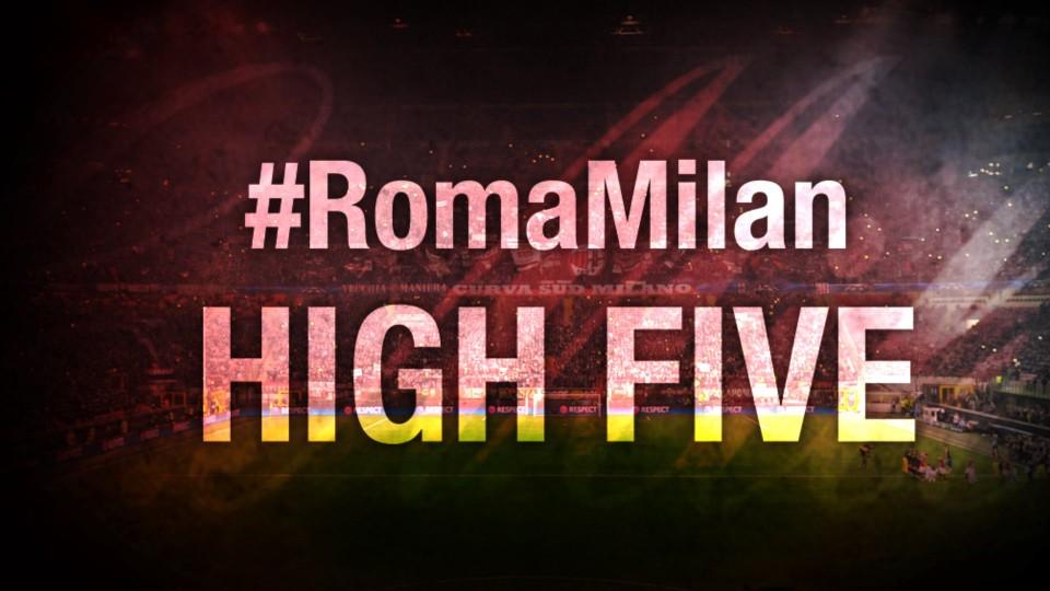 High Five #RomaMilan   AC Milan Official