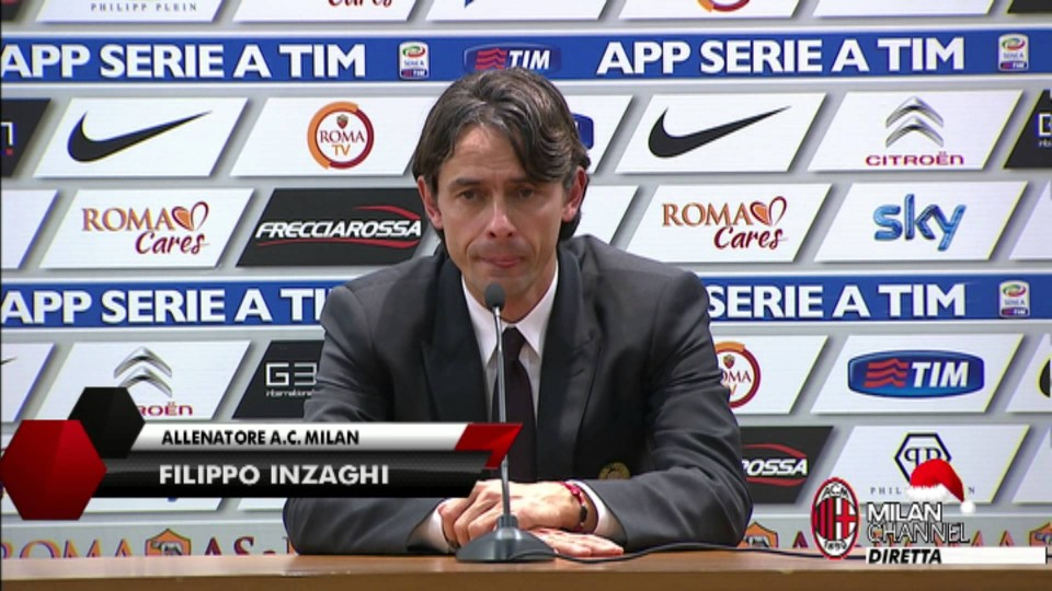 "Inzaghi: ""Il Milan è sulla strada giusta"" | AC Milan Official"