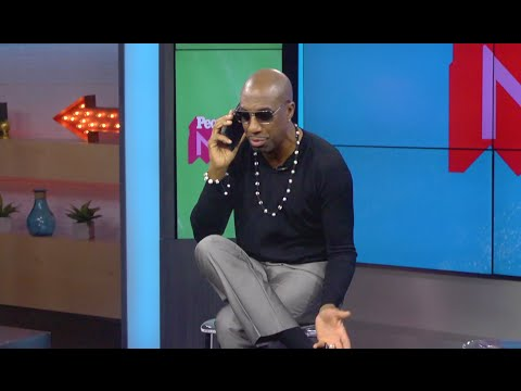 J.B. Smoove Calls Larry David & Pretends To Be Larry David | Truth or Dare | PEOPLE
