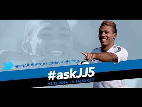 Live! #askJJ5 Juan Jesus in diretta su InterNos 12.12.2014 h:14:30