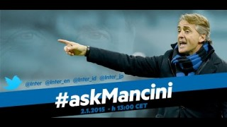Live! #askMancini su Inter Channel 2.1.2015 h.13:00 CET