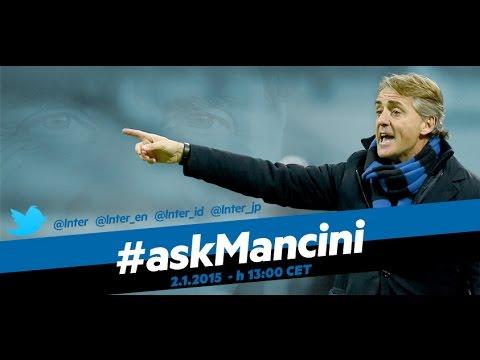 Live! #askMancini su Inter Channel 2.1.2015 h.13:00 CET