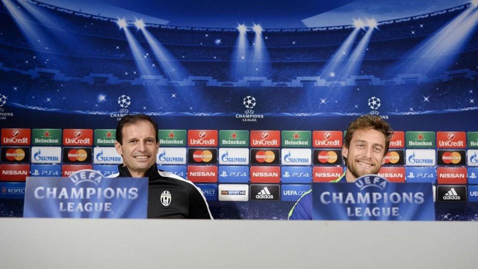 LIVE – Conferenza stampa/Rueda de prensa  pre Juventus – Club Atletico de Madrid