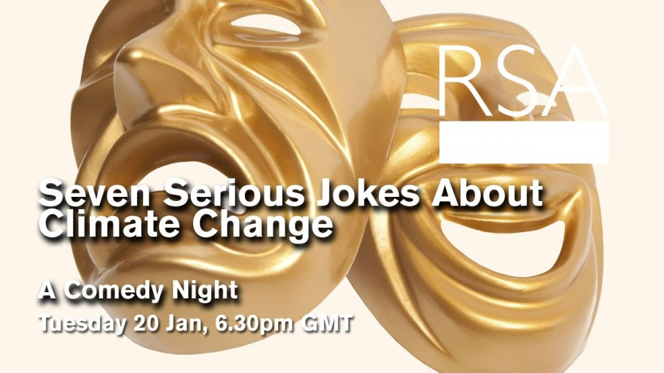 LIVE EVENT: Seven Serious Jokes About Climate Change