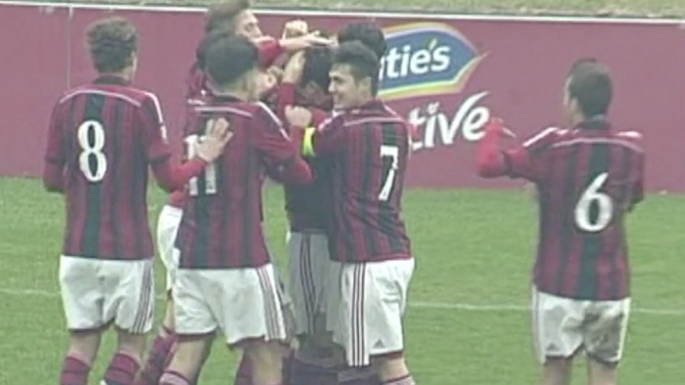 Milan-Chievo 4-0 Highlights | AC Milan Youth Official
