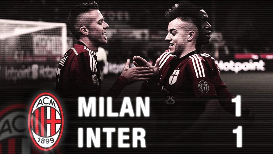 Milan-Inter 1-1 Highlights | AC Milan Official