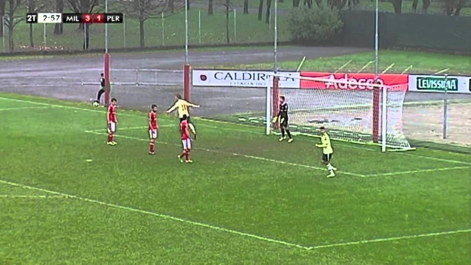 Milan-Perugia 7-1 Highlights | AC Milan Youth Official