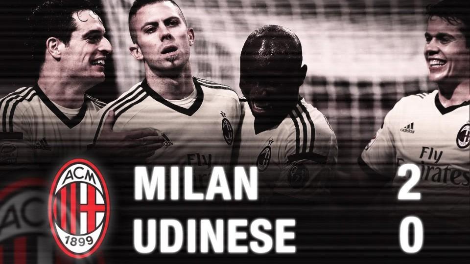 Milan-Udinese 2-0 Highlights | AC Milan Official