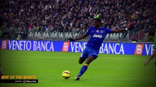 Paul Pogba's goals and skills November 2014 – MVP of the month powered by Hanwha