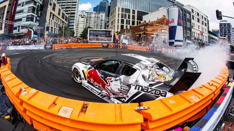 Precision Drift Racing in New Zealand – Red Bull Drift Shifters