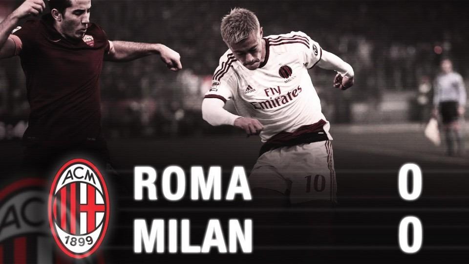 Roma-Milan 0-0 Highlights | AC Milan Official