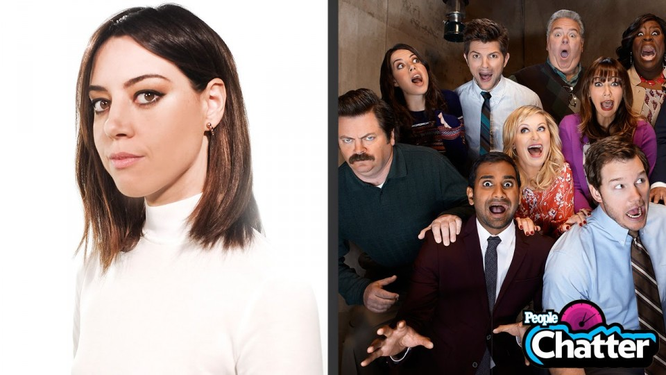 Aubrey Plaza Spills Three Secrets from the Parks and Rec Set | Chatter | PEOPLE