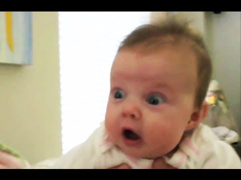 Babies Scared of Farts Compilation 2014 [NEW HD]