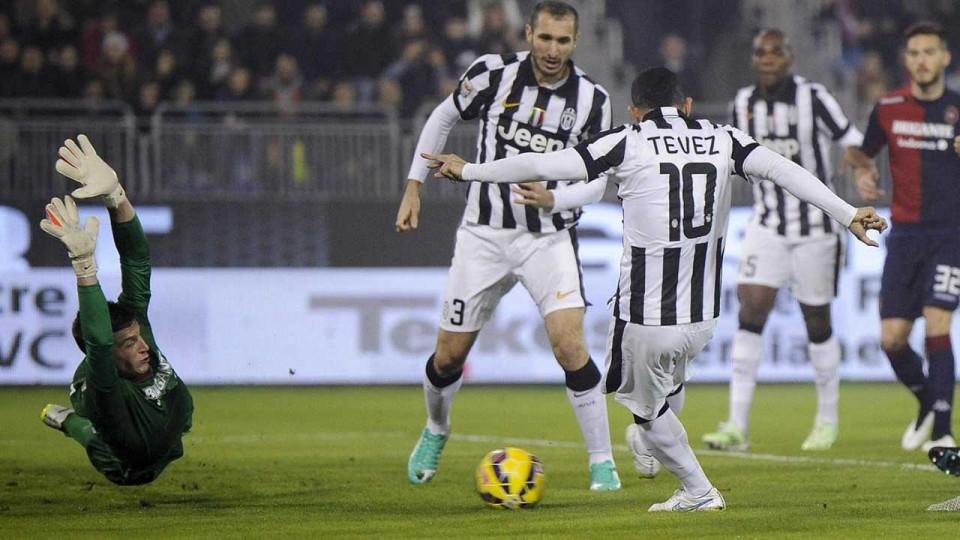 Cagliari-Juventus 1-3   18/12/2014   Highlights