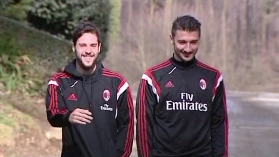 Destro e Bocchetti atterrano sul pianeta Milan | AC Milan Official