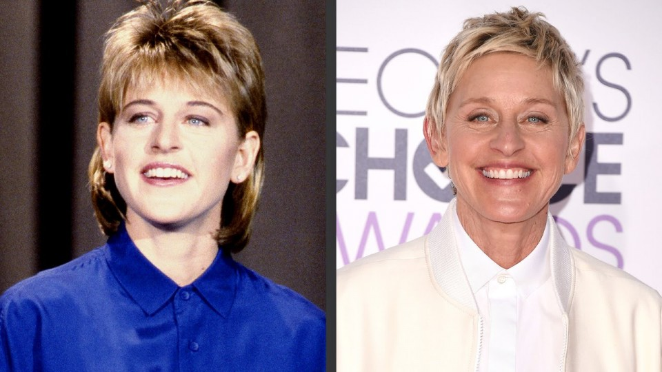 Ellen DeGeneres's Evolution of Looks | Time Machine | PEOPLE