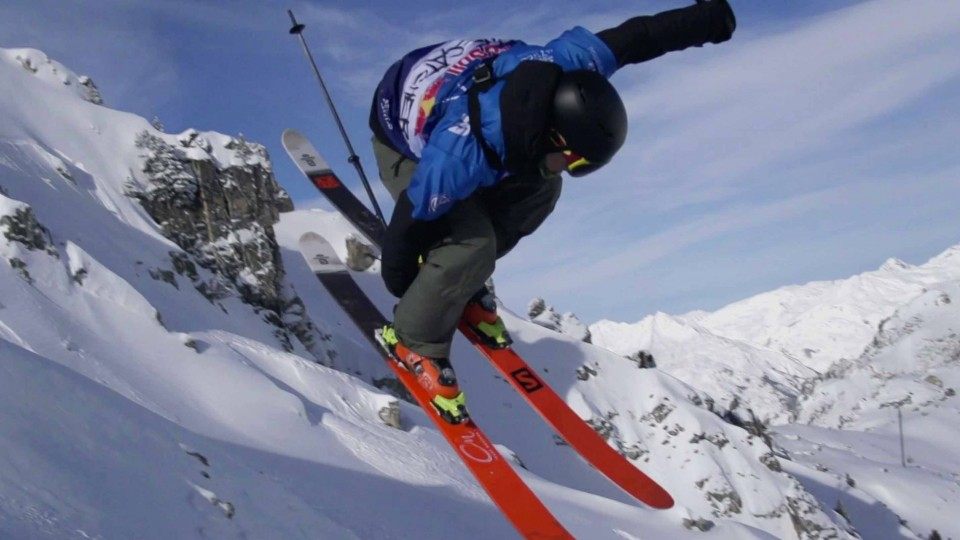 Fresh Powder and Backcountry Freestyle Skiing – Red Bull Linecatcher