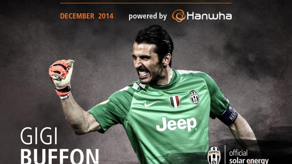 Gigi Buffon's super saves December 2014 – MVP of the month powered by Hanwha