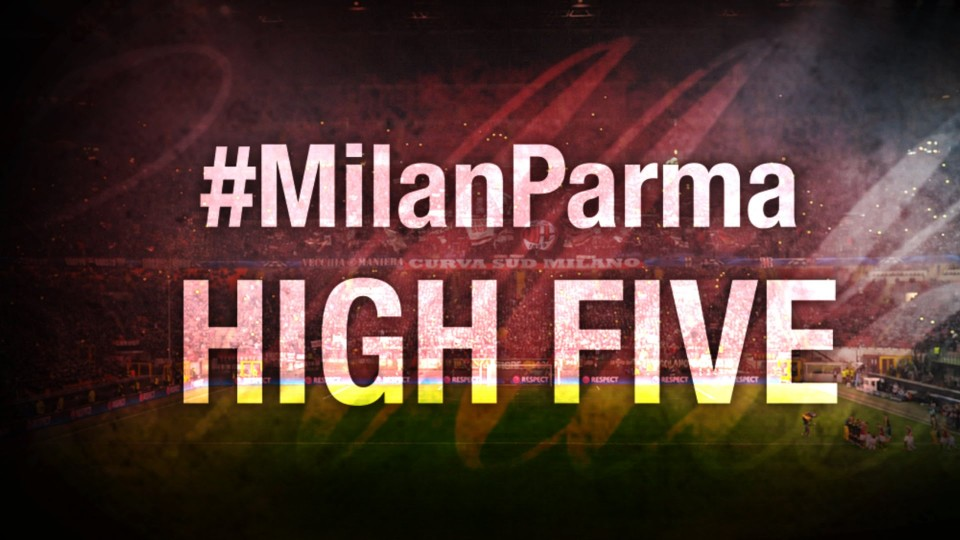 High Five #MilanParma | AC Milan Official