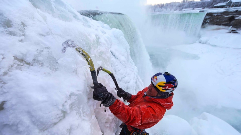 Ice Climbing Frozen Niagara Falls – Will Gadd's First Ascent