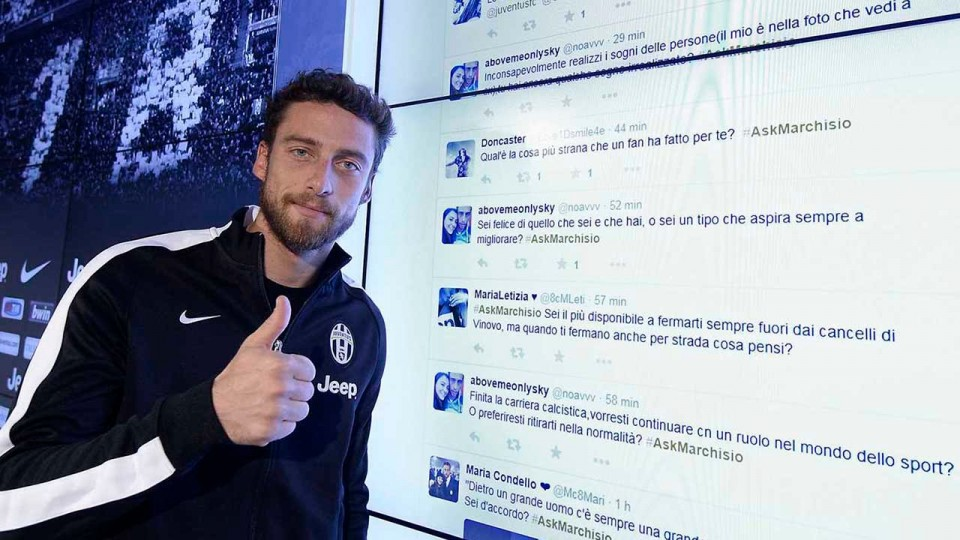 Il backstage dell'#AskMarchisio – #AskMarchisio behind the scenes