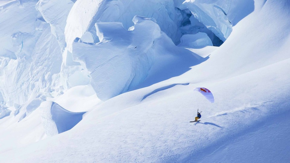 Incredible Speedriding Line: The Rowel – The Unrideables: Alaska Range