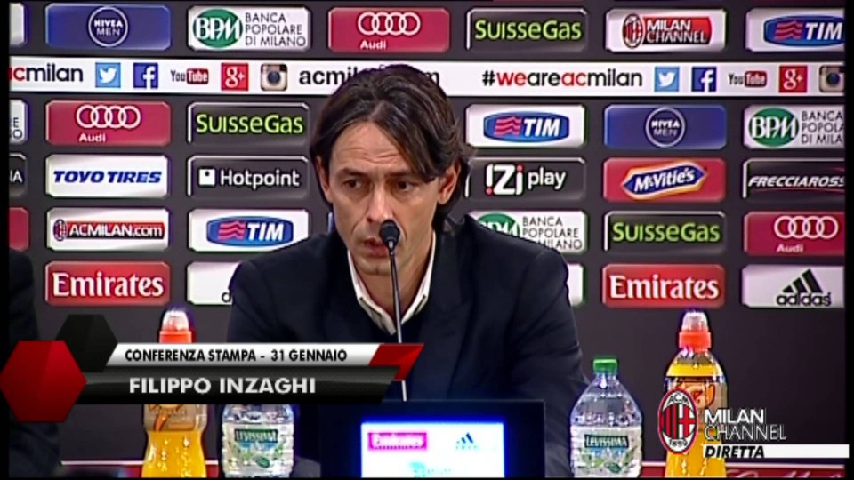 "Inzaghi: ""Vincere col Parma per ripartire"" 