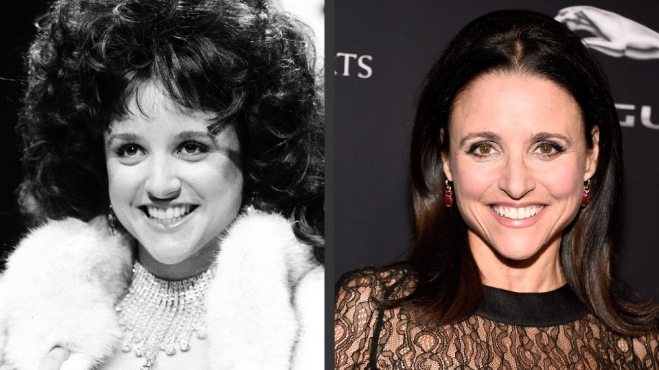 Julia Louis-Dreyfus's Evolution of Looks | Time Machine | PEOPLE