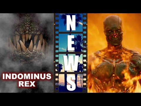 Jurassic World's Indominus Rex! Terminator Genisys Super Bowl Spot – Beyond The Trailer