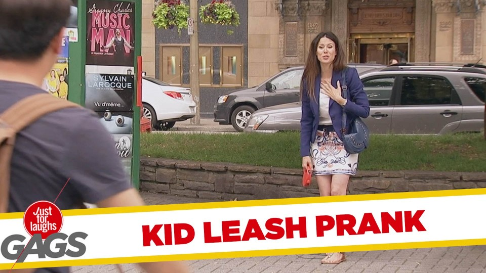 Kid Leash Prank
