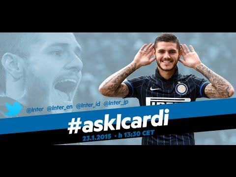 Live! #askIcardi @Inter – Mauro Icardi risponde alle domande via twitter 23.1.2015 h 13:30CET