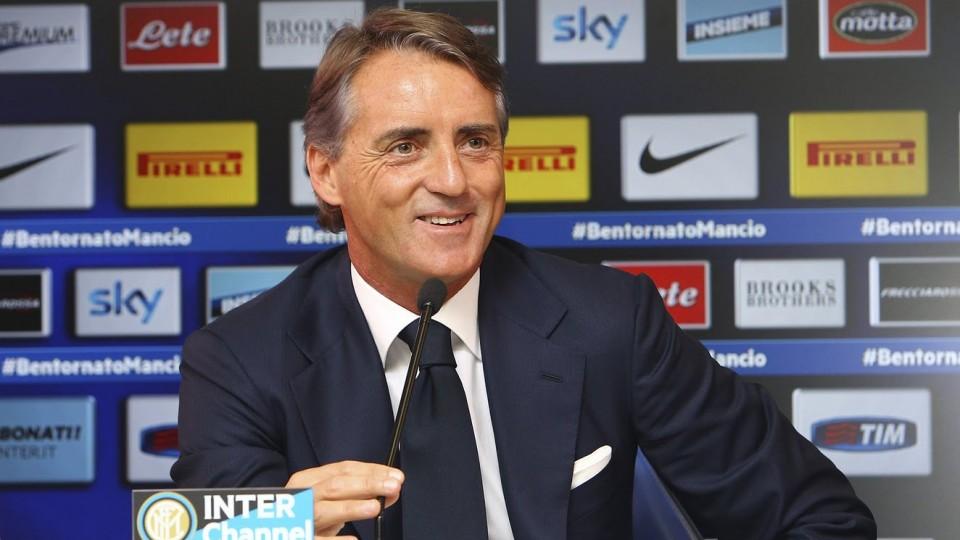 Live! Conferenza stampa Roberto Mancini prima di Juventus-Inter 5.1.2015 h:12:00CET