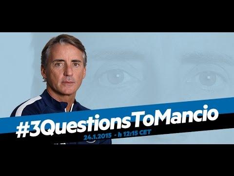 Live! Conferenza stampa Roberto Mancini prima di Inter-Torino 24.1.2015 h:12:15CET