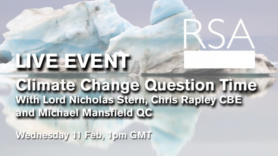LIVE EVENT – Climate Change Question Time