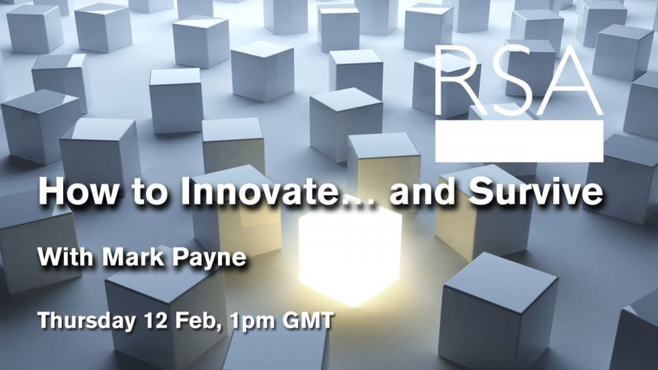 LIVE EVENT: How to Innovate… and Survive
