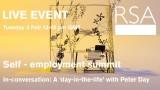 LIVE EVENT – Self Employment Summit – In-conversation