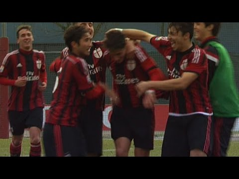 Milan-Cagliari 4-0 Highlights | AC Milan Youth Officia