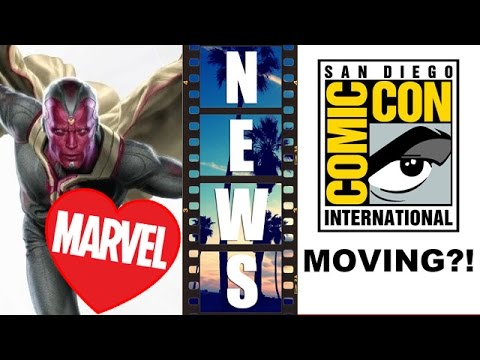 Paul Bettany LOVES being Vision! Comic Con to Los Angeles or Anaheim? – Beyond The Trailer