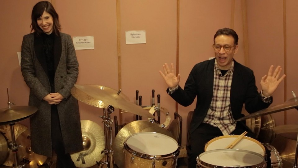 """Portlandia"" Stars Duel on the Drums"