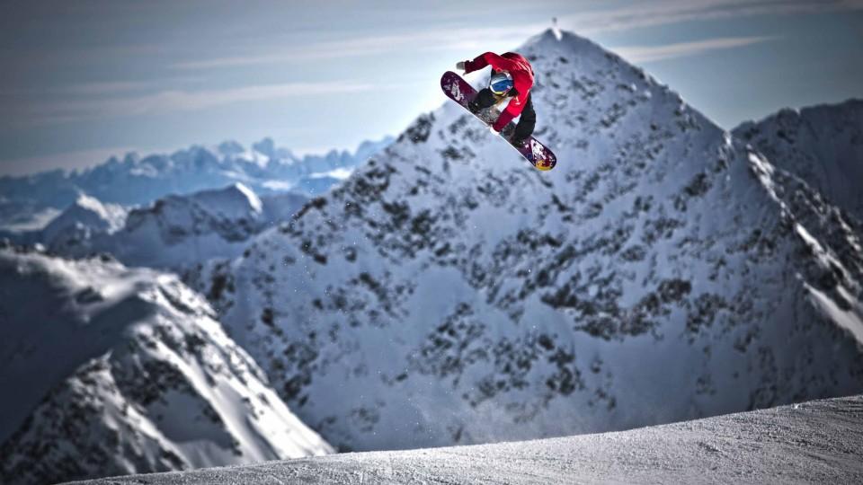 Slopestyle Snowboarding w/ Anna Gasser