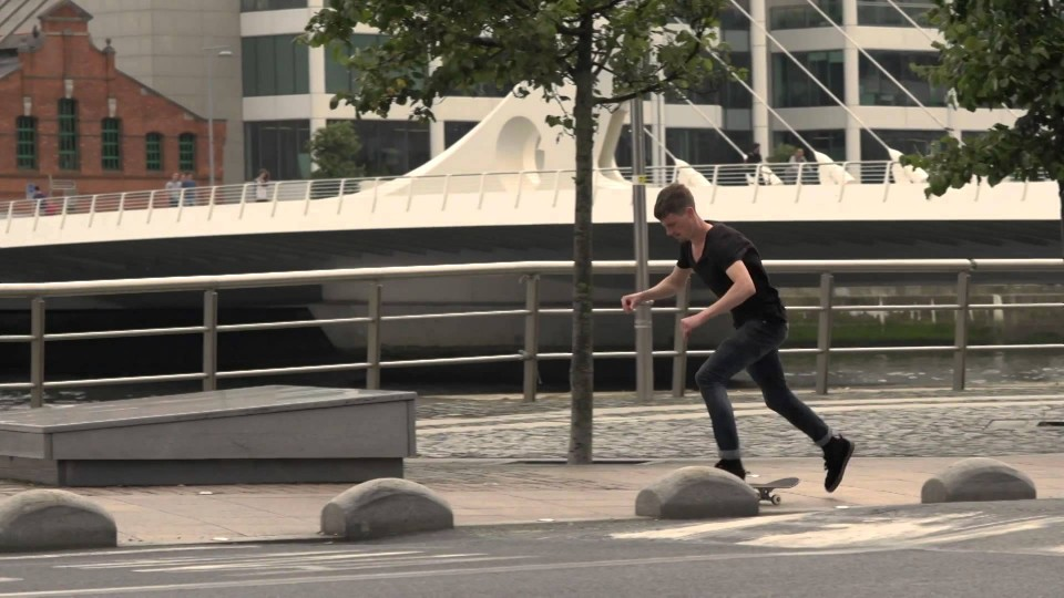 Street Skating in Ireland – 40 Shades – Part 2