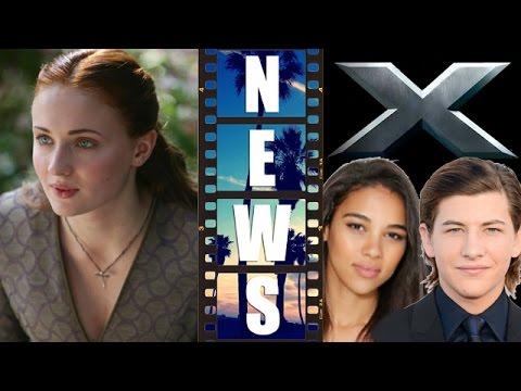 X-Men Apocalypse – Sophie Turner, Tye Sheridan, Alexandra Shipp – Beyond The Trailer