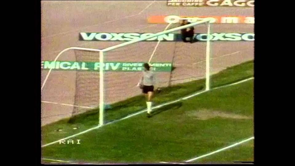 13/04/1980 – Serie A – Roma-Juventus 1-3