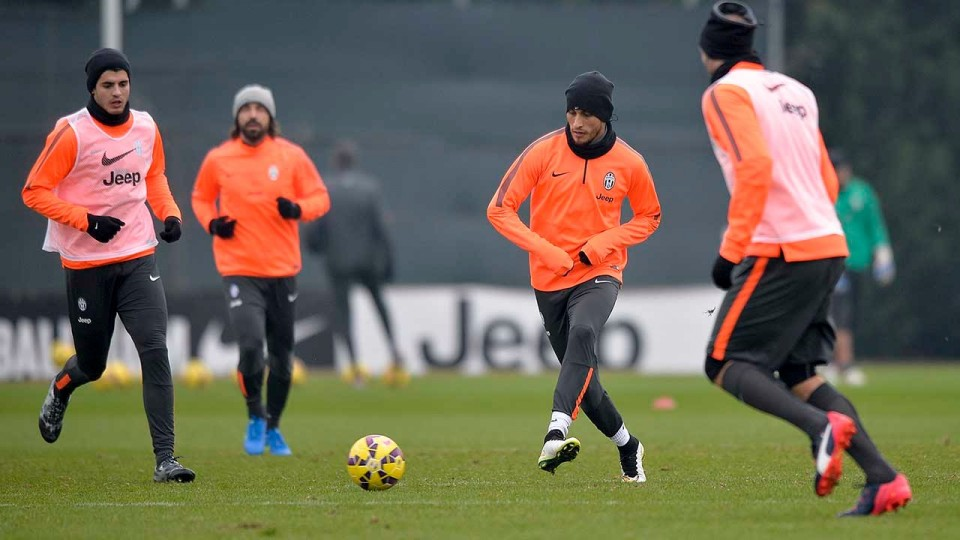 Al lavoro verso Juventus-Milan – Gearing up for the Rossoneri