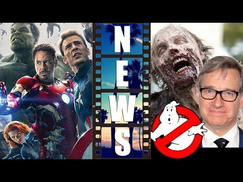 Avengers 2 Poster Review, Ghostbusters 2016 channels The Walking Dead? – Beyond The Trailer